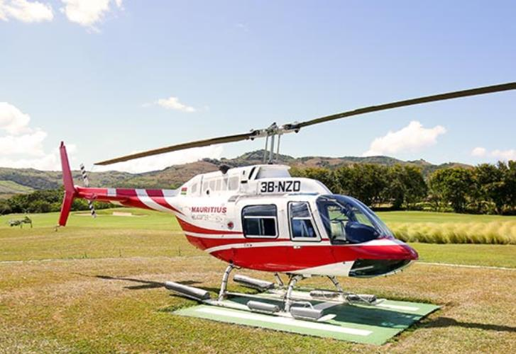 Helicopter Mauritius