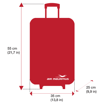 Baggage on Air Mauritius