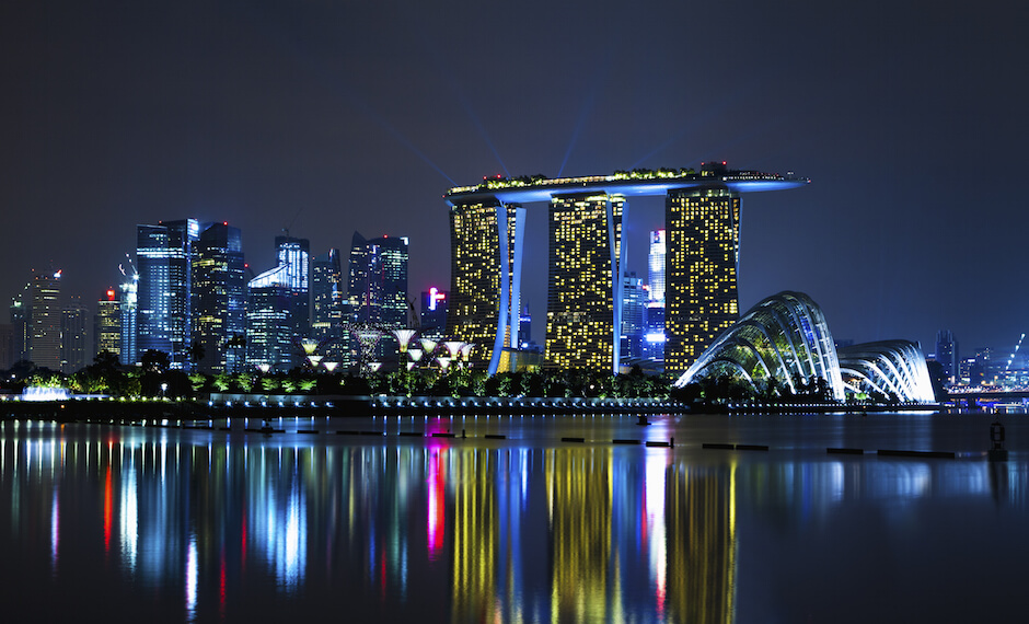 The Grand Prix is one of Singapore's huge attractions