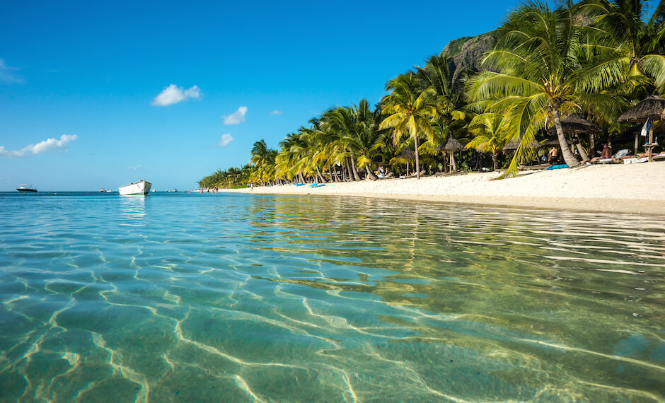 With less than 12 hour flight time there's no excuse not to visit beautiful Mauritius