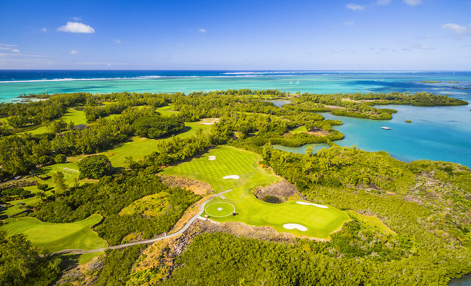 Mauritius is a paradise for golf